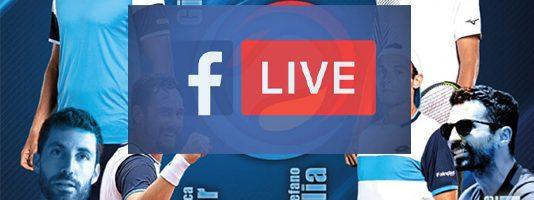 Seconda giornata di diretta Facebook